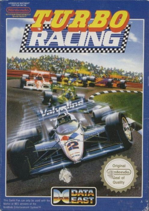 Image showing the Al Unser Jr.'s Turbo Racing box art