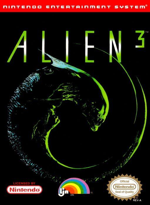 Image showing the Alien 3 box art
