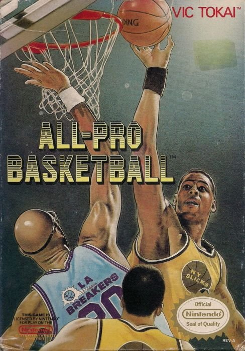 Image showing the All-Pro Basketball box art
