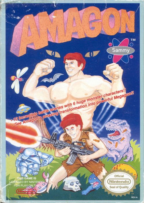 Image showing the Amagon box art