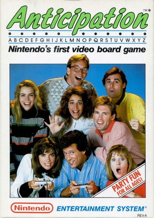 Clickable image taking you to the page for Anticipation NES