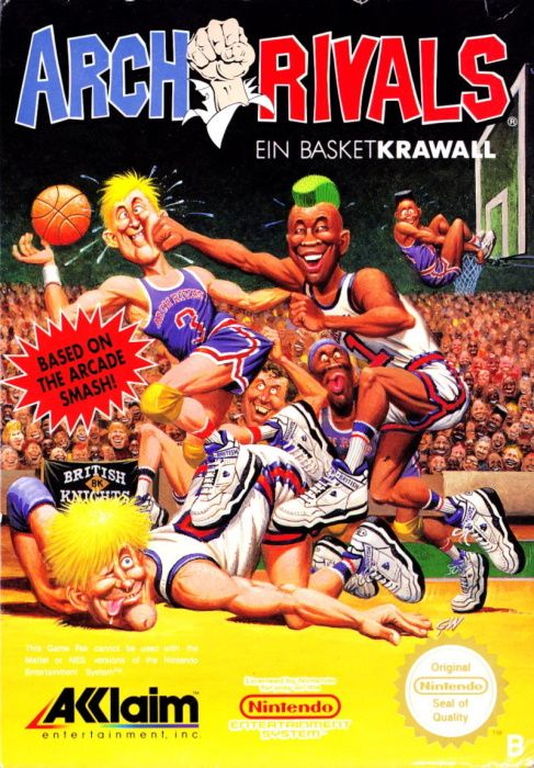 Image showing the Arch Rivals box art