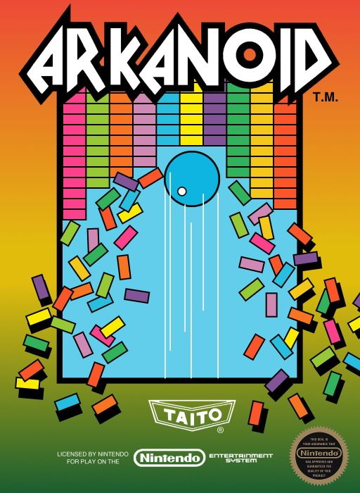Image showing the Arkanoid box art