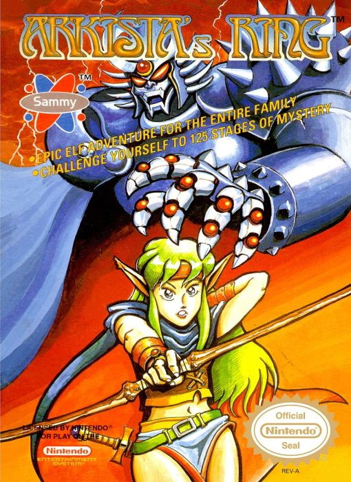 Image showing the Arkista's Ring box art