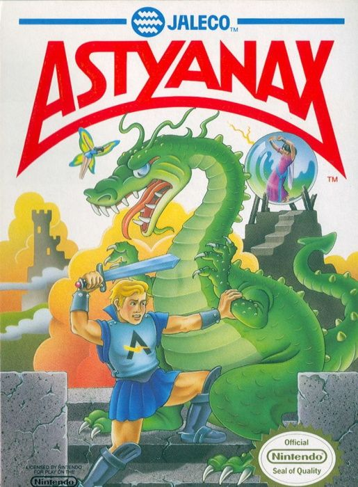 Clickable image taking you to the page for Astyanax NES