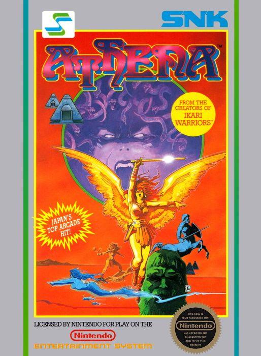 Image showing the Athena box art