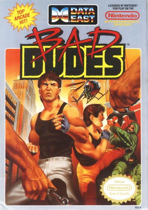 Clickable image taking you to the page for Bad Dudes NES