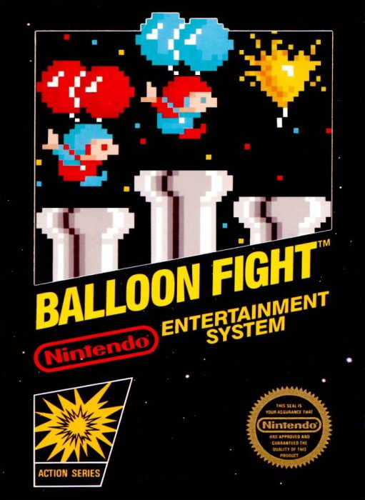 Clickable image taking you to the page for Balloon Fight NES
