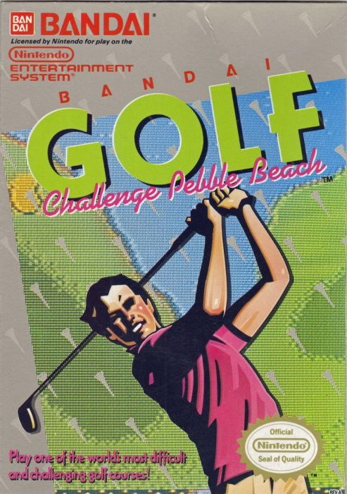 Clickable image taking you to the page for Bandai Golf: Challenge Pebble Beach NES