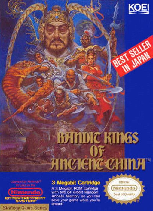 Clickable image taking you to the page for Bandit Kings of Ancient China NES