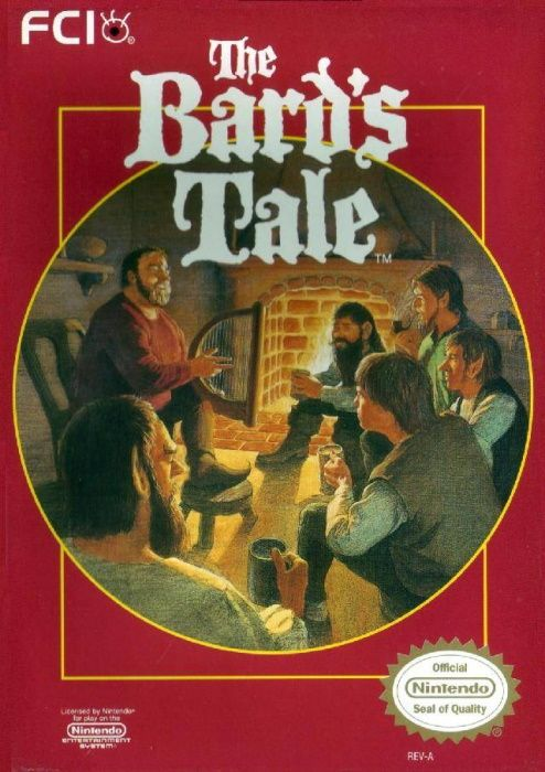 Clickable image taking you to the page for The Bard's Tale NES