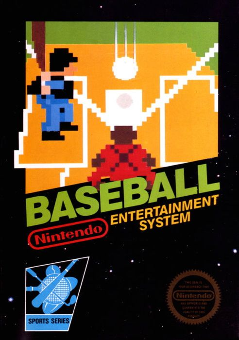 Clickable image taking you to the page for Baseball NES