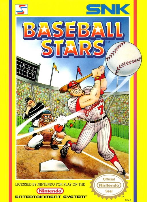 Clickable image taking you to the page for Baseball Stars NES