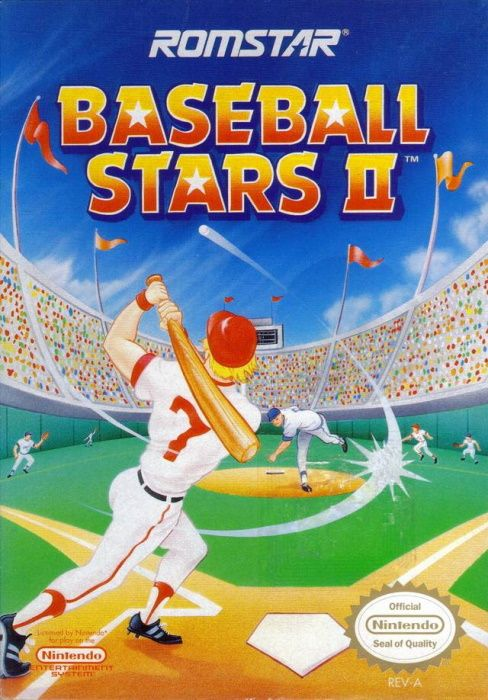 Image showing the Baseball Stars 2 box art