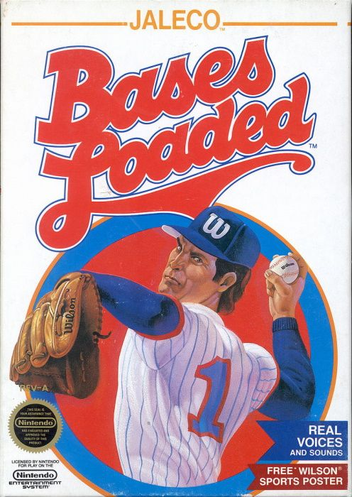 Clickable image taking you to the page for Bases Loaded NES