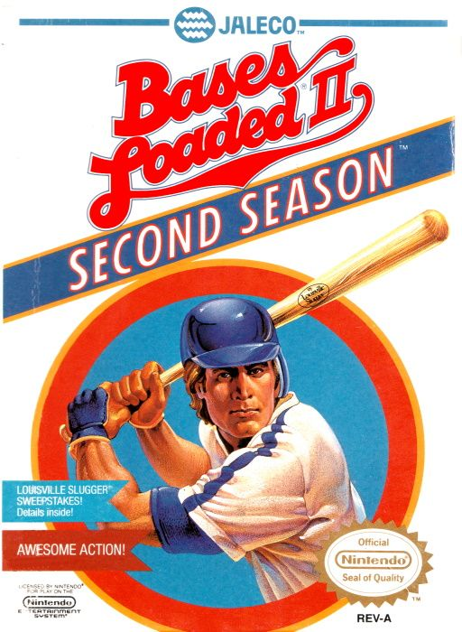 Clickable image taking you to the page for Bases Loaded II: Second Season NES