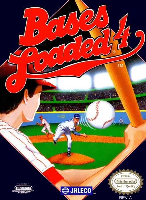 Clickable image taking you to the page for Bases Loaded 4 NES