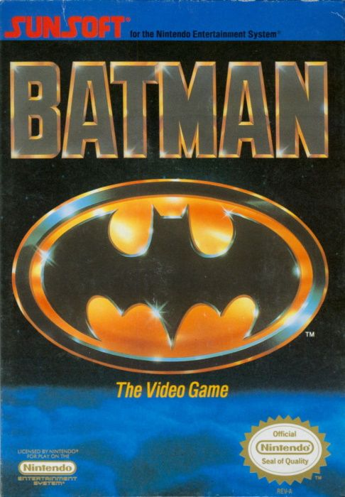 Clickable image taking you to the page for Batman: The Video Game NES