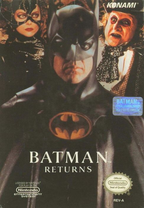 Image showing the Batman Returns box art
