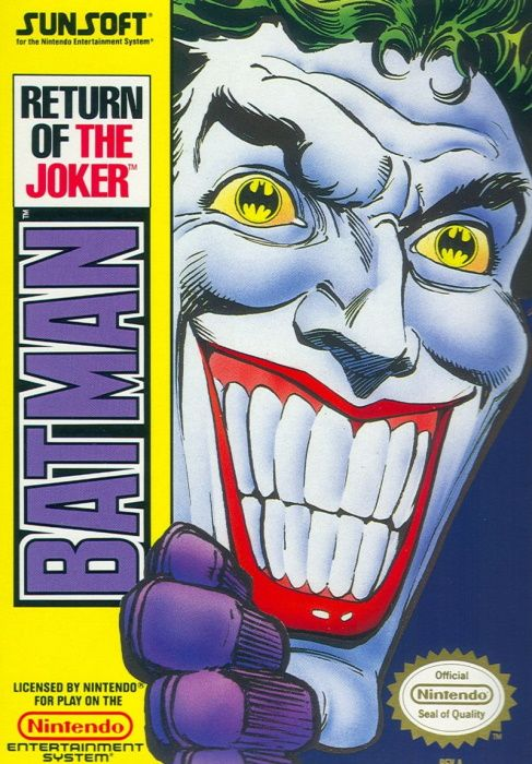 Clickable image taking you to the page for Batman: Return of the Joker NES
