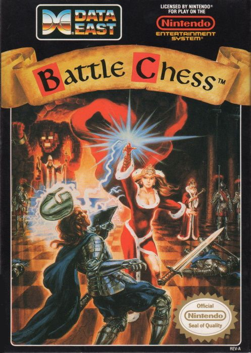 Clickable image taking you to the page for Battle Chess NES
