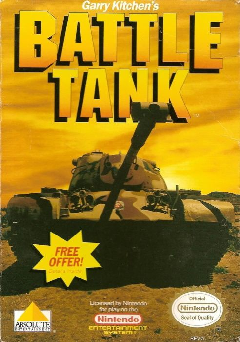 Clickable image taking you to the page for Battle Tank NES