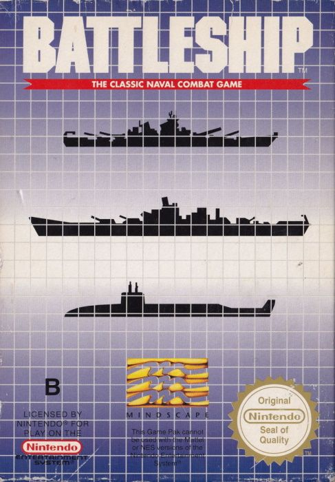 Clickable image taking you to the page for Battleship NES