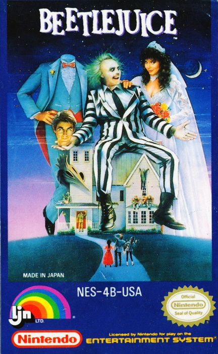 Clickable image taking you to the page for Beetlejuice NES