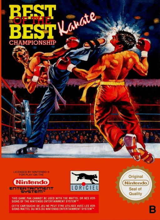 Clickable image taking you to the page for Best of the Best: Championship Karate NES
