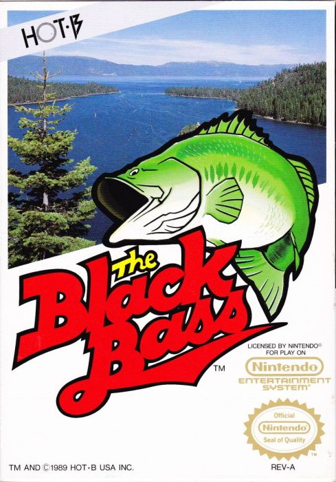 Clickable image taking you to the page for The Black Bass NES