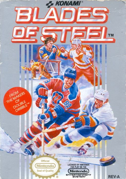 Clickable image taking you to the page for Blades of Steel NES