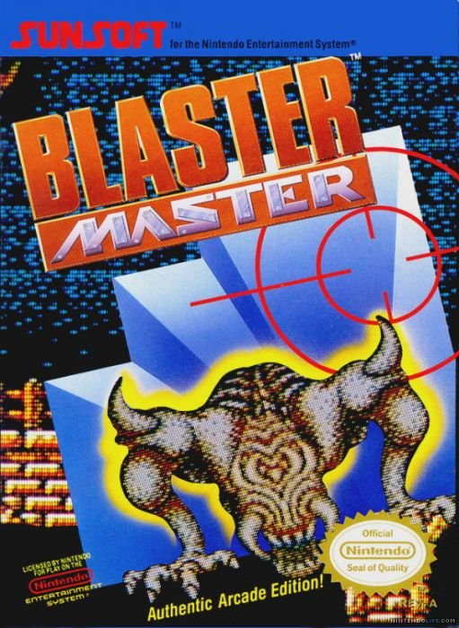 Image showing the Blaster Master box art