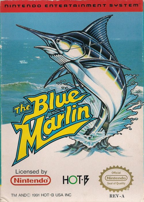 Clickable image taking you to the page for The Blue Marlin NES