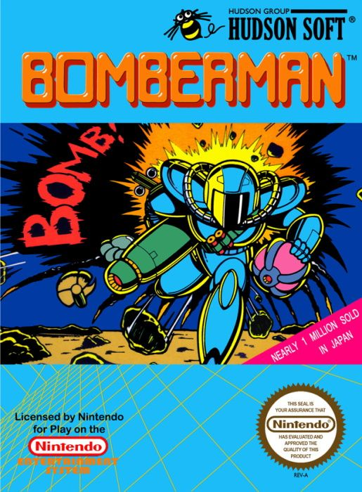 Clickable image taking you to the page for Bomberman NES