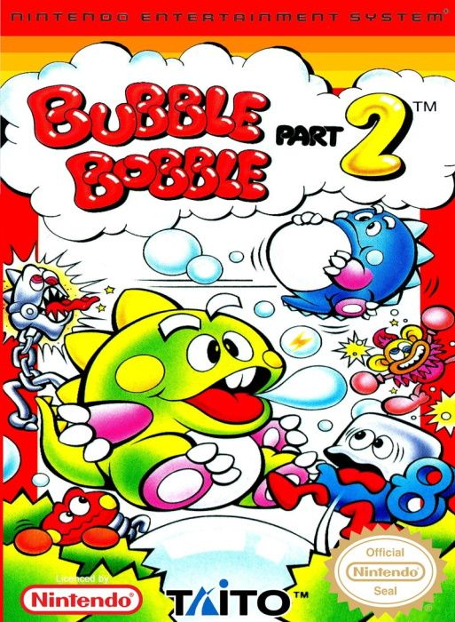 Clickable image taking you to the page for Bubble Bobble NES