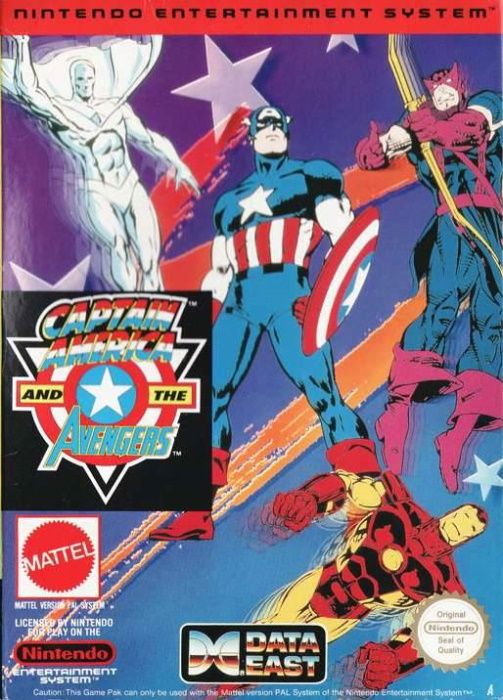 Clickable image taking you to the page for Captain America and the Avengers NES