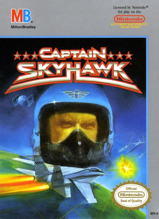 Clickable image taking you to the page for Captain Skyhawk NES