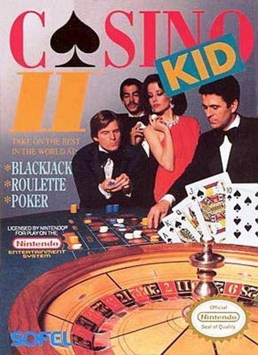 Clickable image taking you to the page for Casino Kid II NES