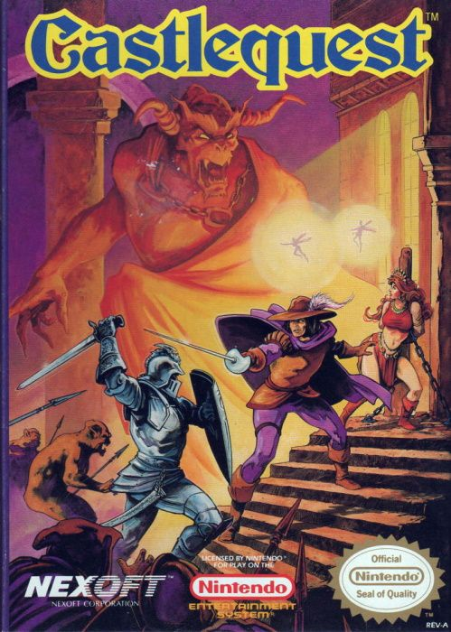 Image showing the Castlequest box art