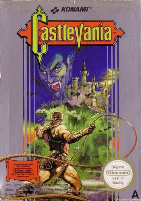 Clickable image taking you to the page for Castlevania NES