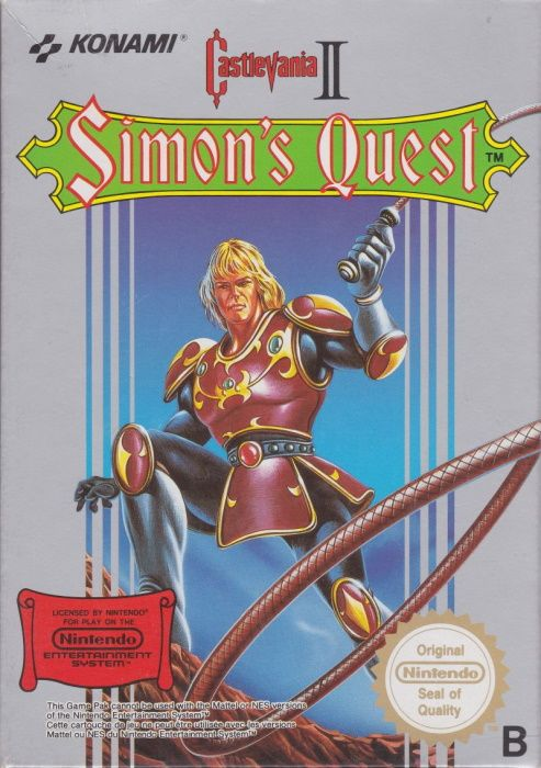 Clickable image taking you to the page for Castlevania II: Simon's Quest NES
