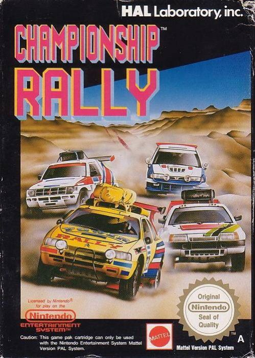 Image showing the Championship Rally box art