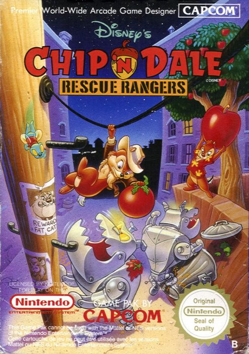 Clickable image taking you to the page for Chip 'n Dale: Rescue Rangers