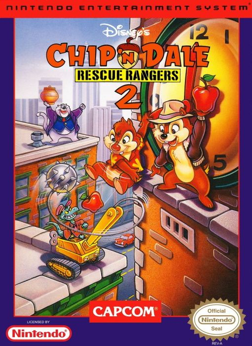 Clickable image taking you to the page for Chip 'n Dale: Rescue Rangers 2