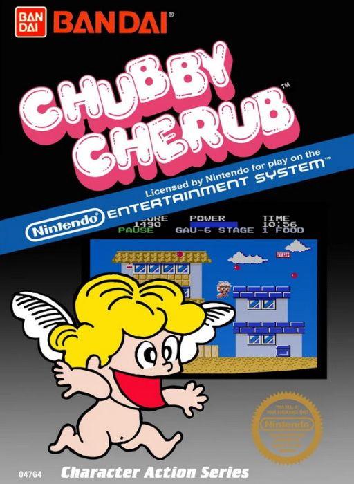 Image showing the Chubby Cherub box art