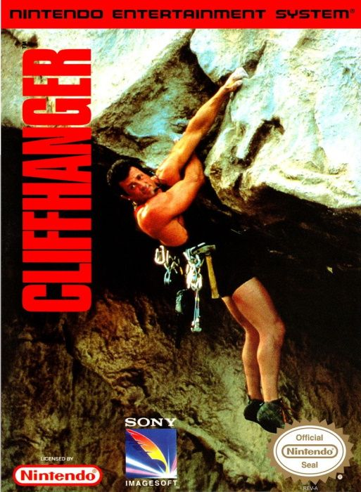 Image showing the Cliffhanger box art