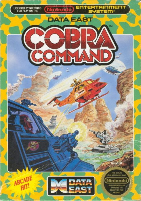Clickable image taking you to the page for Cobra Command NES