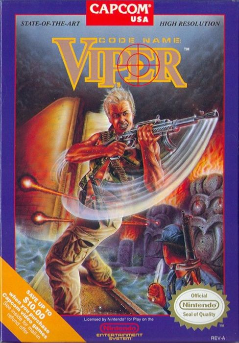Image showing the Code Name: Viper box art