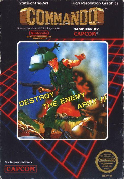 Image showing the Commando box art