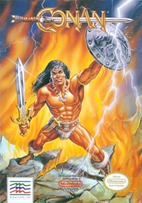 Clickable image taking you to the page for Conan: The Mysteries of Time NES